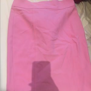 Pink Pencil Skirt - Size 0
